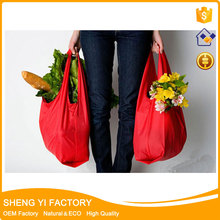 Plain OEM/ODM water proof nylon polyster tote shopping bag
