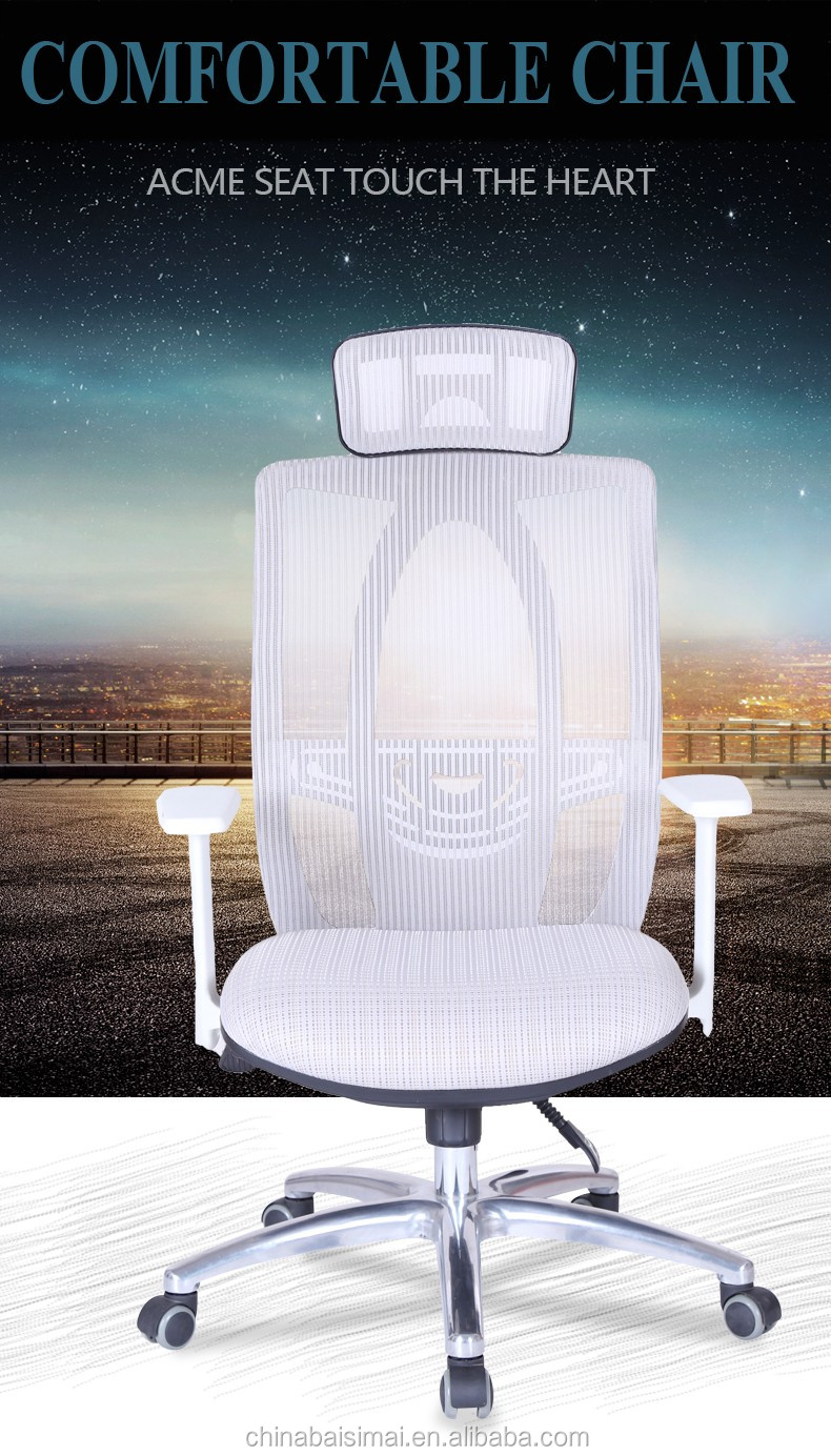 D39A# Cooling comfortable latest design ergonomic mesh office massage chair in low price