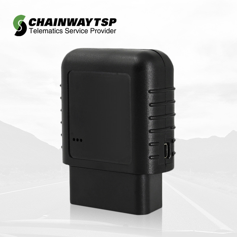 gps car tracker support OBD II Canbus with android APP and gps tracking software CW-601G