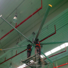 24ft Industrial HVLS Fan in workshop