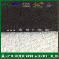 Polyester warp knitted fusible interlining for garment