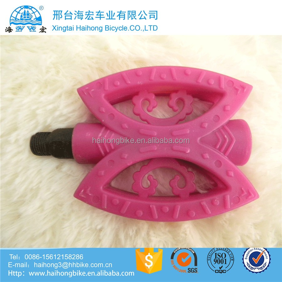 Good Quality Rubber BMX Bicycle/bike Folding Pedals