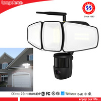 Peer to Peer IP Camera Led Security Motion Light Flood Light With Pir made in china
