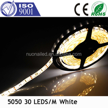 Shenzhen manufacturer LED indoor strip smd5050, 30LEDs/mt