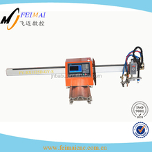 Cnc exquisitely carved portable plasma and flame cutting machine