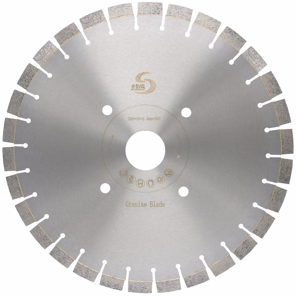 Low Noise Diamond Saw <strong>Blade</strong> 14 Inch Granite Cutting <strong>Blade</strong>