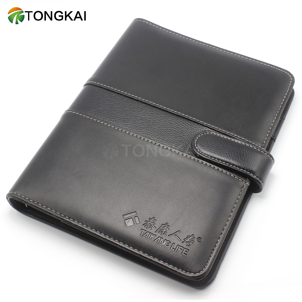 leather ordinary Filofax 6 ring binder planner Organizer