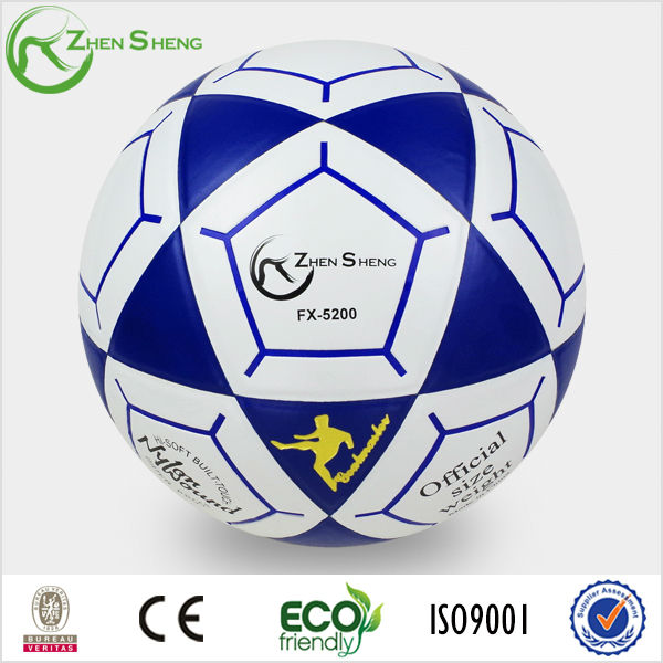 branded laminated soccer ball professional
