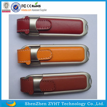 real capacity Low Cost Leather Pendrive 8gb USB Drive 1tb Stick Cheap Flash Made in China
