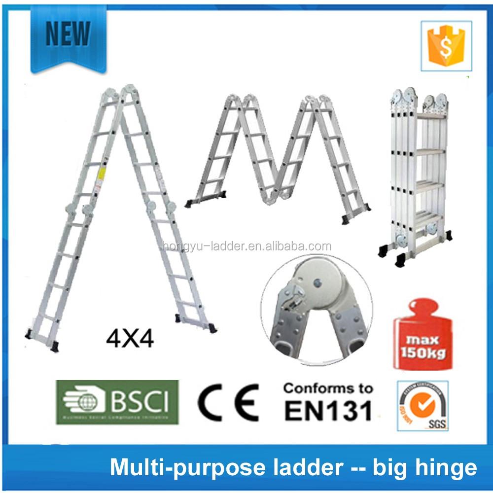 Multifunci n de aluminio escalera wyal 1003 plateform for Escalera multifuncion aluminio