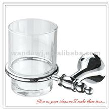 Customized bathroom chrome cup holder ring