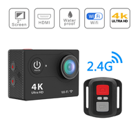 New Arrival Bundle Action Camera 100% Original H9R Ultra HD 4K 30M sport 2.0' Screen 1080p FHD go waterproof pro camera