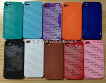 blank spray oil matte surface sublimation phone case for Iphone 4/4s mobile phone shell