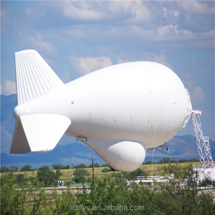 2017 custom made inflatable pvc airship/helium blimp outdoor/zeppelin /inflatable blimp for sale