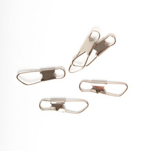 A-type Stainless Steel hook Snap Fishing Accessory Clips fishing snap clips