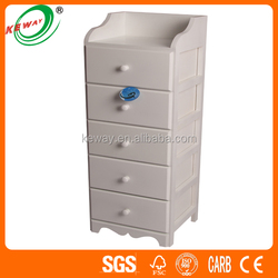 Hot Sale Tall White Wooden Cupboard Design