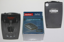 Visual alarm with smart radar detector STR-535 with LED screen
