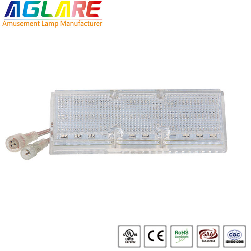 Aglare outdoor waterproof 24v pixel led amusement light