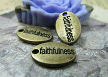 fashion letter pendants jewelry with faithfulness words