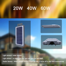 Price List 20W Emergency Mono Solar Panel Solar Powered Street Led Light