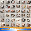 SF-1 Oilless Bearing DU Bushing Metric Or Inch Bronze Based Bearing Carbon Steel Stainless Steel Bushing With PTFE Teflon Bush
