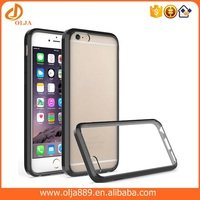 Wholesale Soft TPU Transparent Acrylic Mobile Phone For iphone 6s Cover