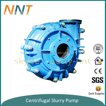 sand and gravel mining slurry pump for mine industry ore transportation