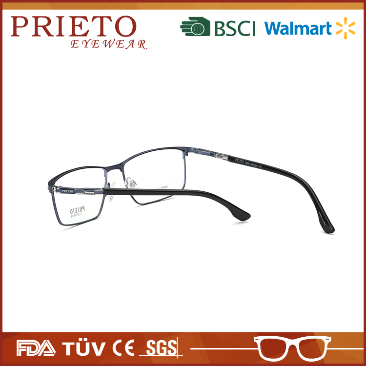 Hot sale stylish eyeglasses metal optical frames for wholesales