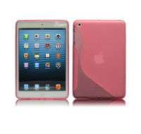 fashional S-line tpu gel case for ipad mini 2, for mini ipad tablet case