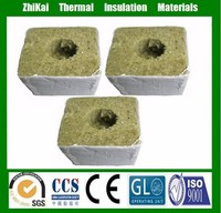 High density agricultural growing cubes rockwool for plant