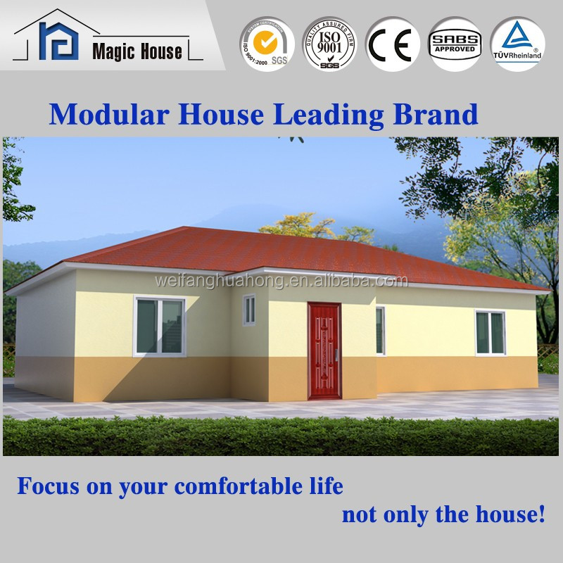 Low cost fiexible design prefabricated a frame house kit for Low cost house kits