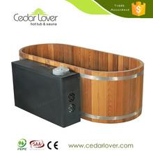 China wholesale Good quality Wooden sex massage outdoor hot spa tub home use