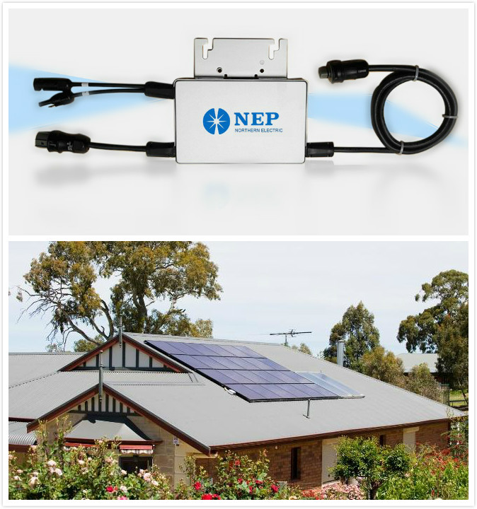 CE certificated grid tie small solar micro inverter for sale 12v 24v 48v to 220v with built in MPPT 40A controller