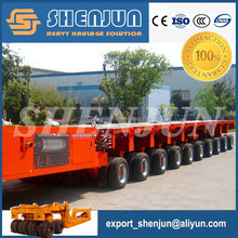 SPMT multi axle self propelled trailer, hydraulic modular trailer for sale