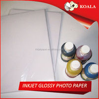 240g soft silky glossy inkjet resin coated photo paper rolls factory supplier