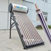Short delivery time pressurized instant solar water heater with heat pipe collector