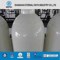 Industrial Seamless Steel O2, Cl2 Gas Cylinder