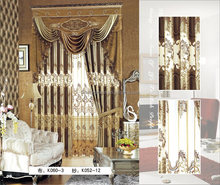 Textile and fabric window curtain drapes/ curtains designs/white door beads curtain