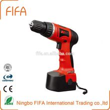 Cordless Battery Drill Two Speed With GS UL China Power Tool LED