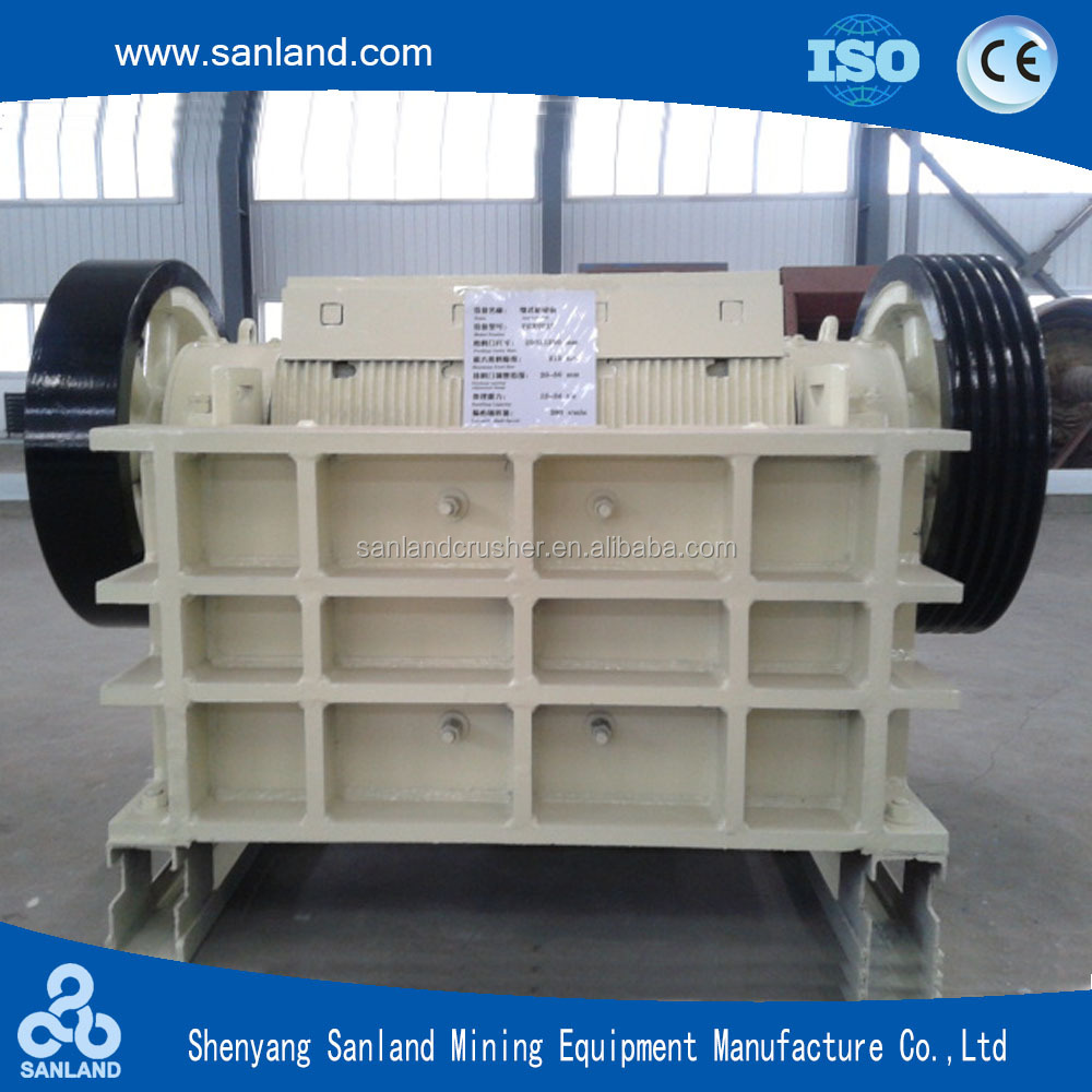 jaw crusher specification