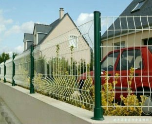 Fence Fencings Wire Welded Mesh Designer Decorative Wave