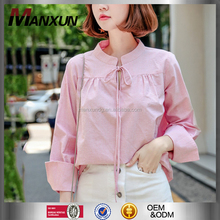 Fashion Clothing 2017 Long Sleeve Casual Shirt For Girls Korean Woman Blouses And Tops
