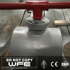 Wafer Type WCB Stainless Steel Handle Operate Floating Ball Valve