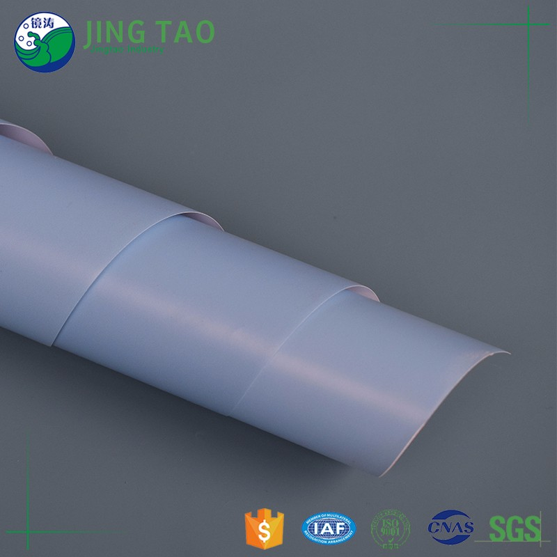 Eco-friendly single-color pvc mirror stretch ceiling film
