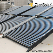 Solar water collector for solar swimming pool