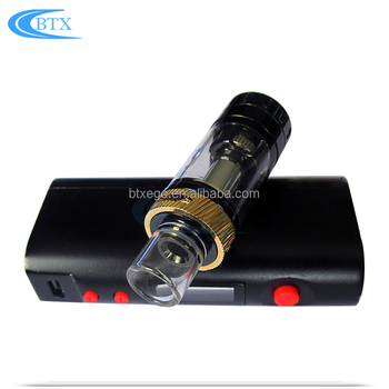 Large battery capacity vape mods box mod 200w box vape mod e-cigarette atomizer