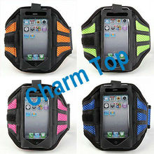 Fashionable Adjustable Velcro Armband case for iPhone 5