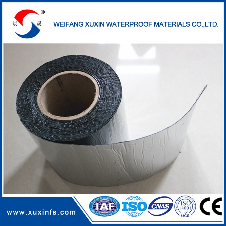 Self-adhesive Polymer Modified-bitumen Waterproof roller sheet for basement, metro, tunnel, pool, roof