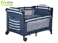 classical baby furniture baby cribs baby playpen baby bed blue and white baby playard for boys