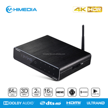 Himedia Q10 pro 4K 2K quad Core Kodi pre install iptv Box andorid Google TV Box MINI PC